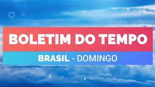 Previsão do Tempo Brasil Domingo 27 09 20 – Sudeste – Centro-Oeste – Sul  – Nordeste – Norte
