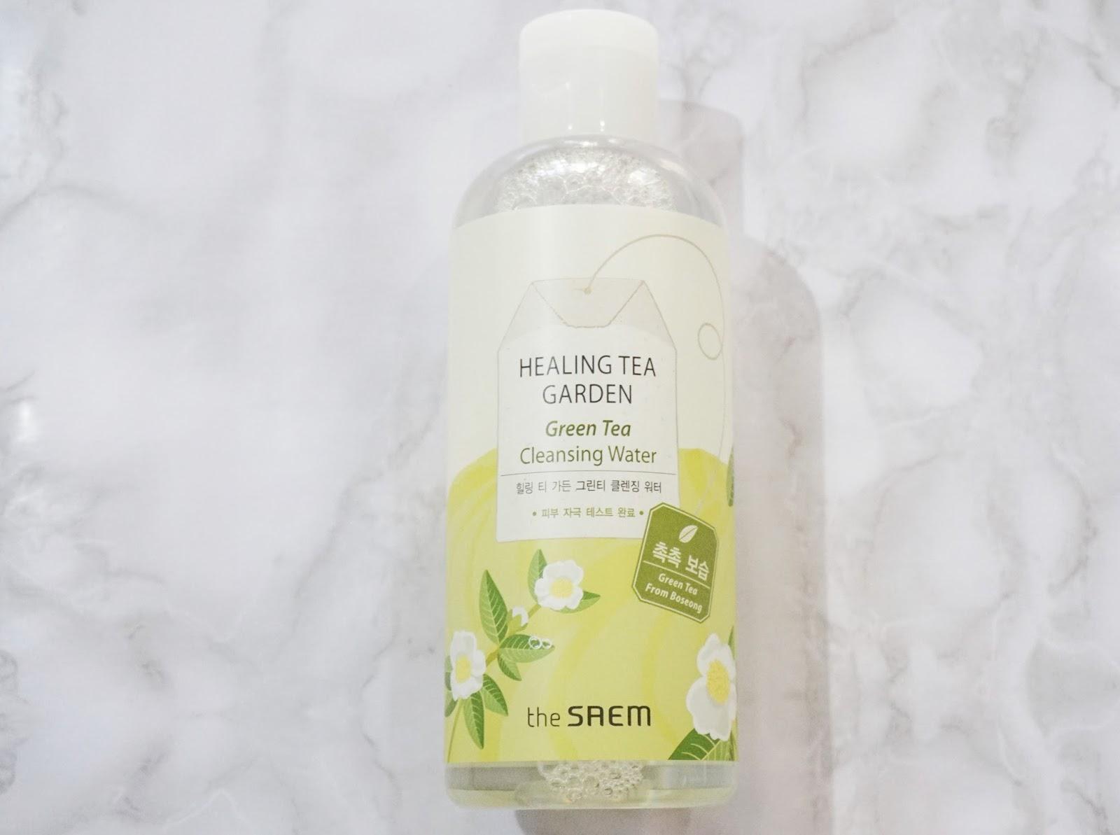 healing tea garden green tea cleansing water review