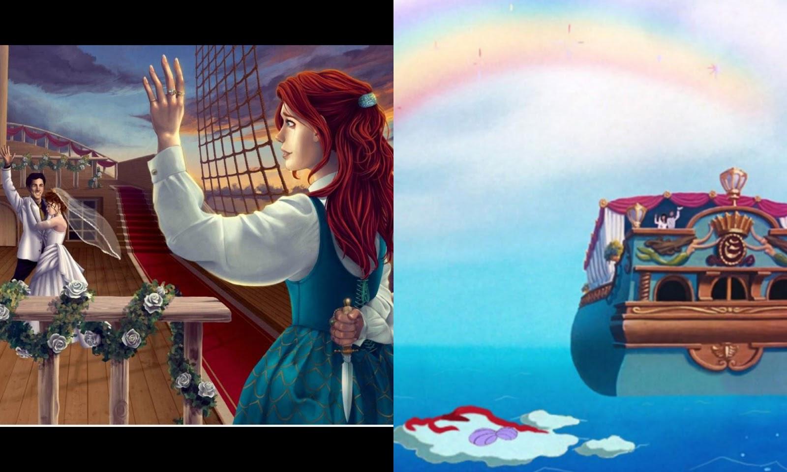 true ending of little mermaid