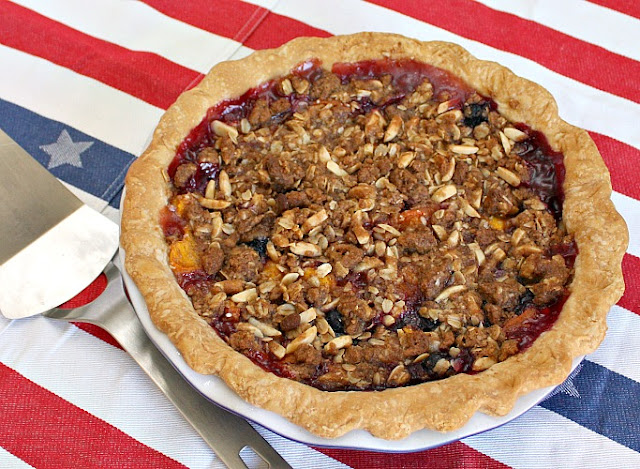 stone fruit pie