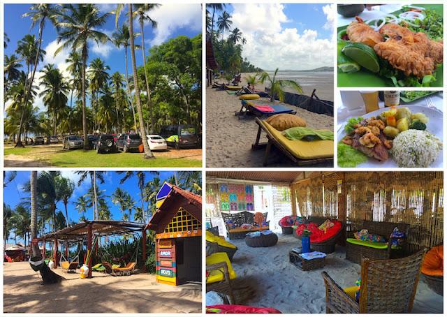 Praia de Carneiros - Restaurante Bora Bora