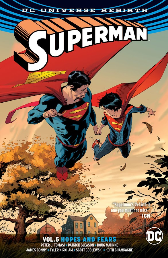 superman vol 5 hopes and fears dc rebirth