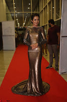 Actress Catherine Tresa in Golden Skin Tight Backless Gown at Gautam Nanda music launchi ~ Exclusive Celebrities Galleries 101.JPG