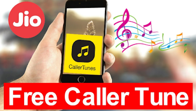 how to set jio caller tune in phone