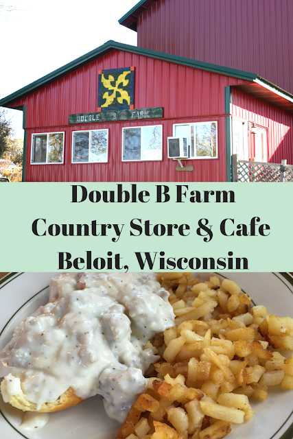 Hearty farm to table fare at Double B Farm Country Store & Cafe in Beloit, Wisconsin