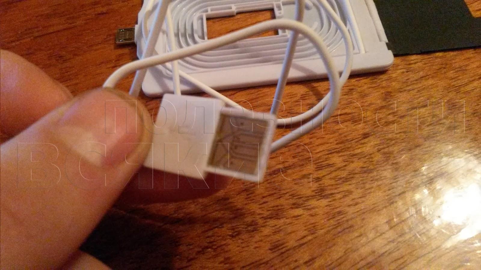 тонкий USB штекер
