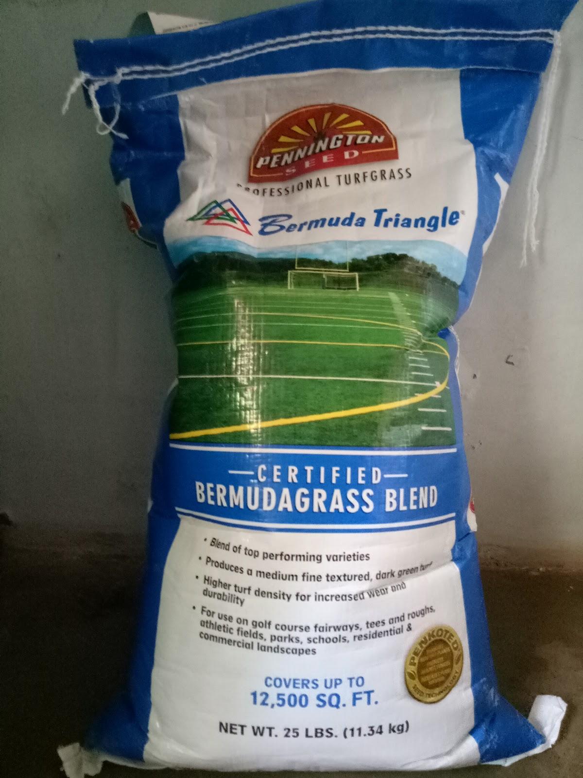 Supplier Biji Rumput Scotts Bermuda Grass Seed Pusat Benih Triangle