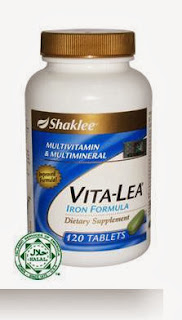Vitalea Vitamin Semulajadi Atasi Lesu Badan