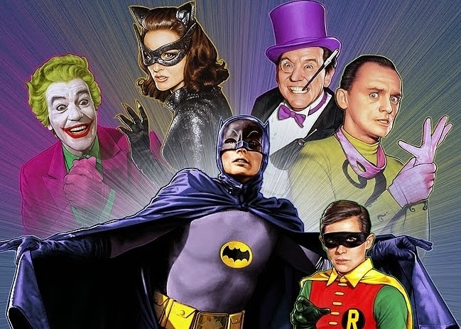Batman live action TV show from 1966-1968