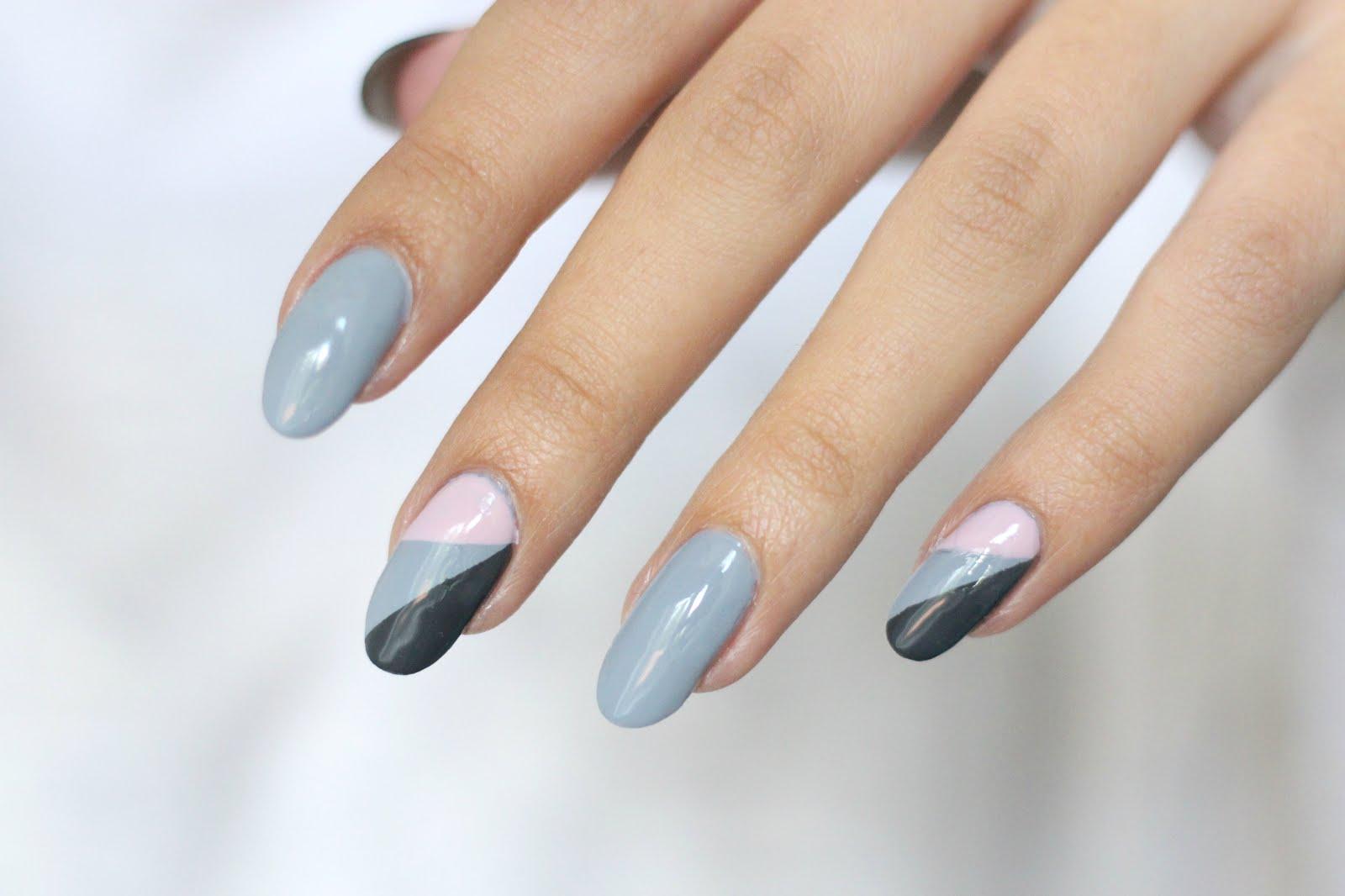 graphic nails, graphic nail art, nail art, easy nail art, diy  nail art, nelly ray, nelly ray blog, german blogger, blogger, german beauty blogger, beautyblog,