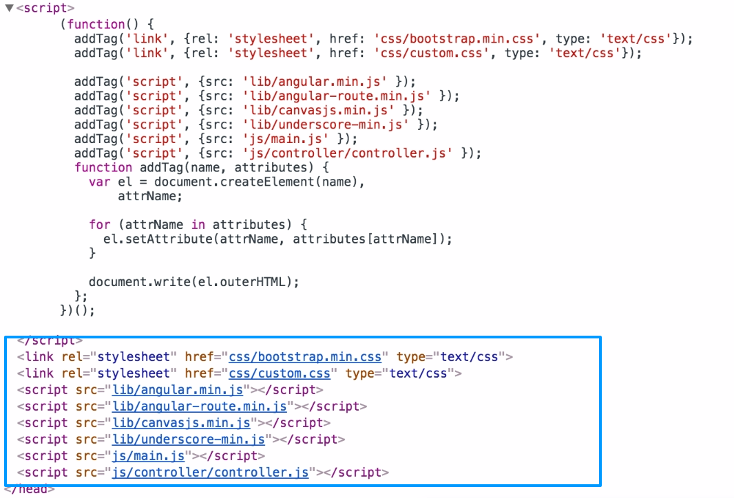 How to add attributes dynamically in html tag using javascript ...