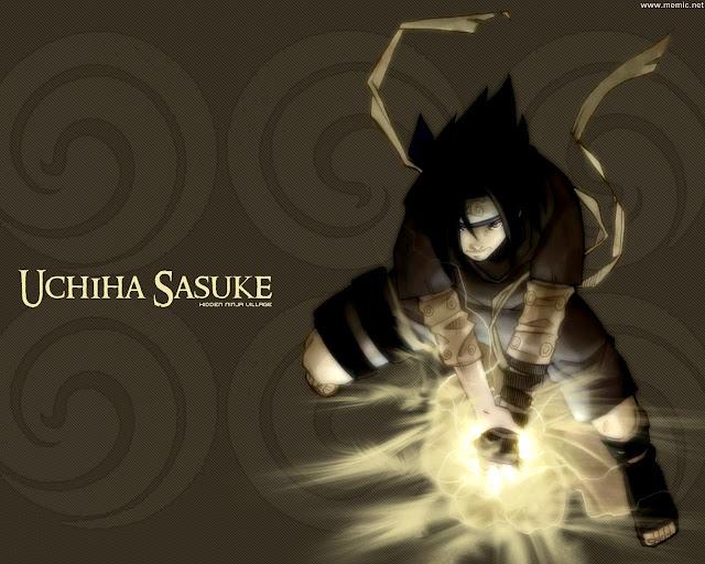 Sasuke Uchiha Chidori Wallpaper
