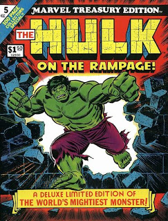 Incredible Hulk Marvel Treasury Edition