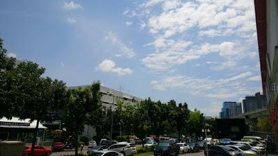 バンコクの青空
