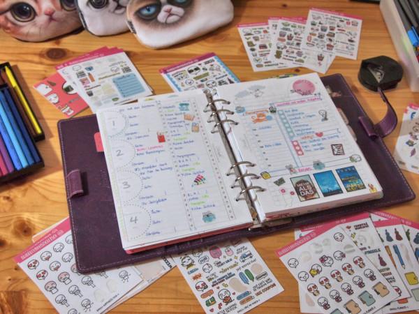 Mein Schreibtisch : Plan with me