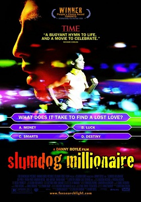 Slumdog Millionaire 2008 300MB BluRay Hindi Dubbed Dual Audio 480p