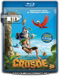 As Aventuras de Robinson Crusoé Torrent - BluRay Rip 720p e 1080p Dublado
