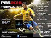 Kompetisi PES 2016 di Hanzo Game Center Bandung April 2016