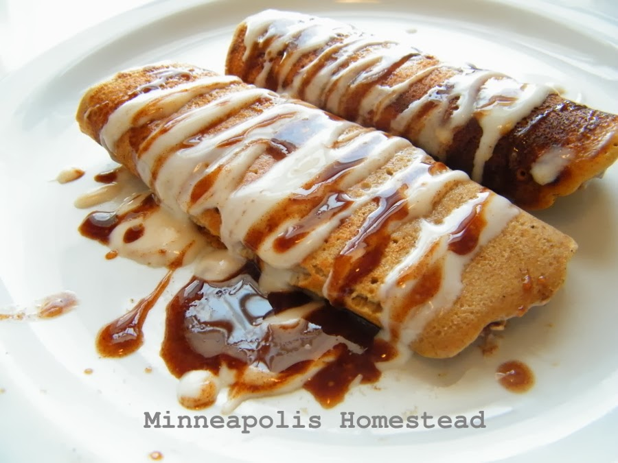 High Protein Cinnamon Roll Crepes Gf Low Sugar Low Carb