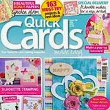 'Designer for a Day' - Quick Cards Made Easy - August 2014 issue