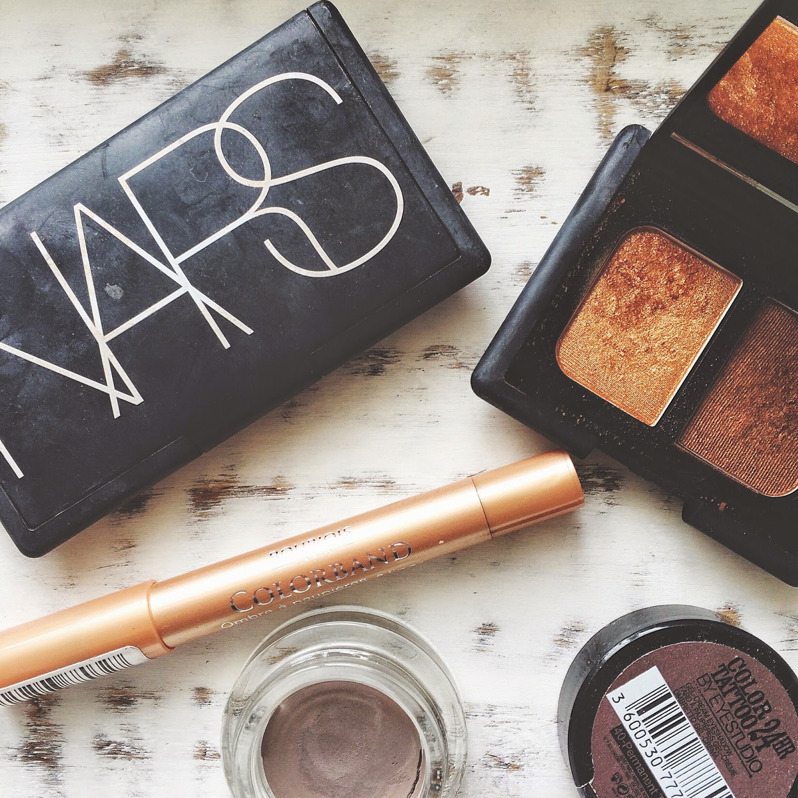 The Nars copper Isolde Duo eyeshadow palette