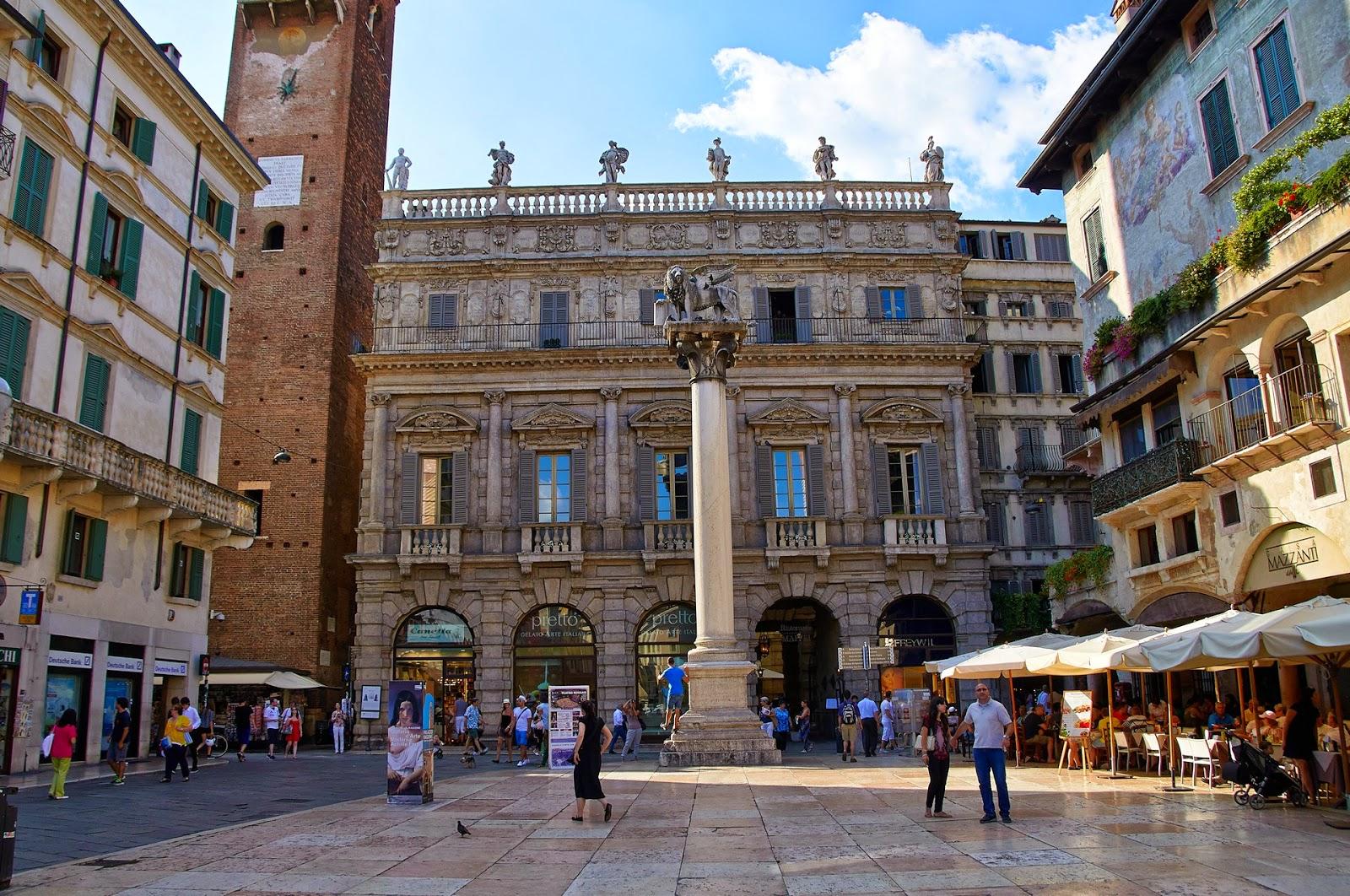 centrum Werony, co zobaczyć, co zwiedzić, Włochy