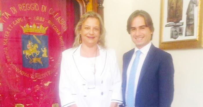 REGGIO CALABRIA. Rosi Perrone (Cisl) incontra il sindaco Giuseppe Falcomatà