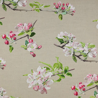apple blossom fabric