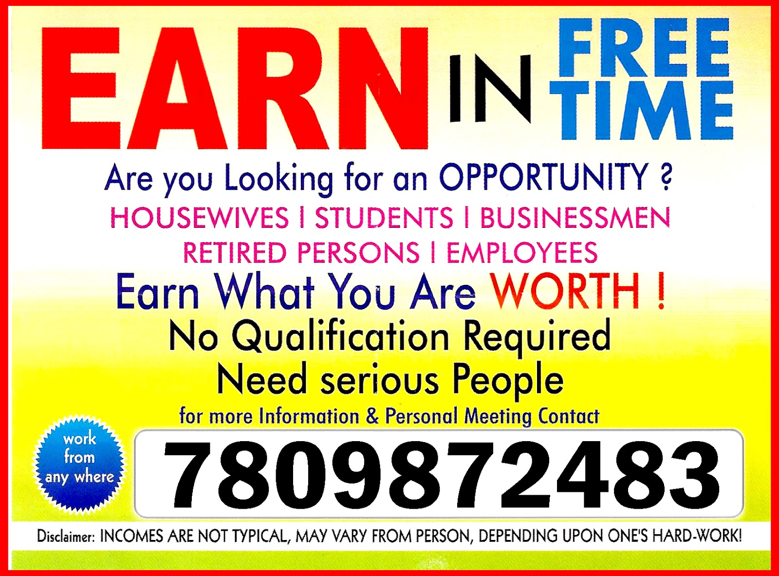 Independent Business Opportunity For Part Time Or Full Launch An Home Based