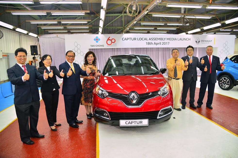Motoring Malaysia Renault And Tc Euro Cars Have Locally Assembled