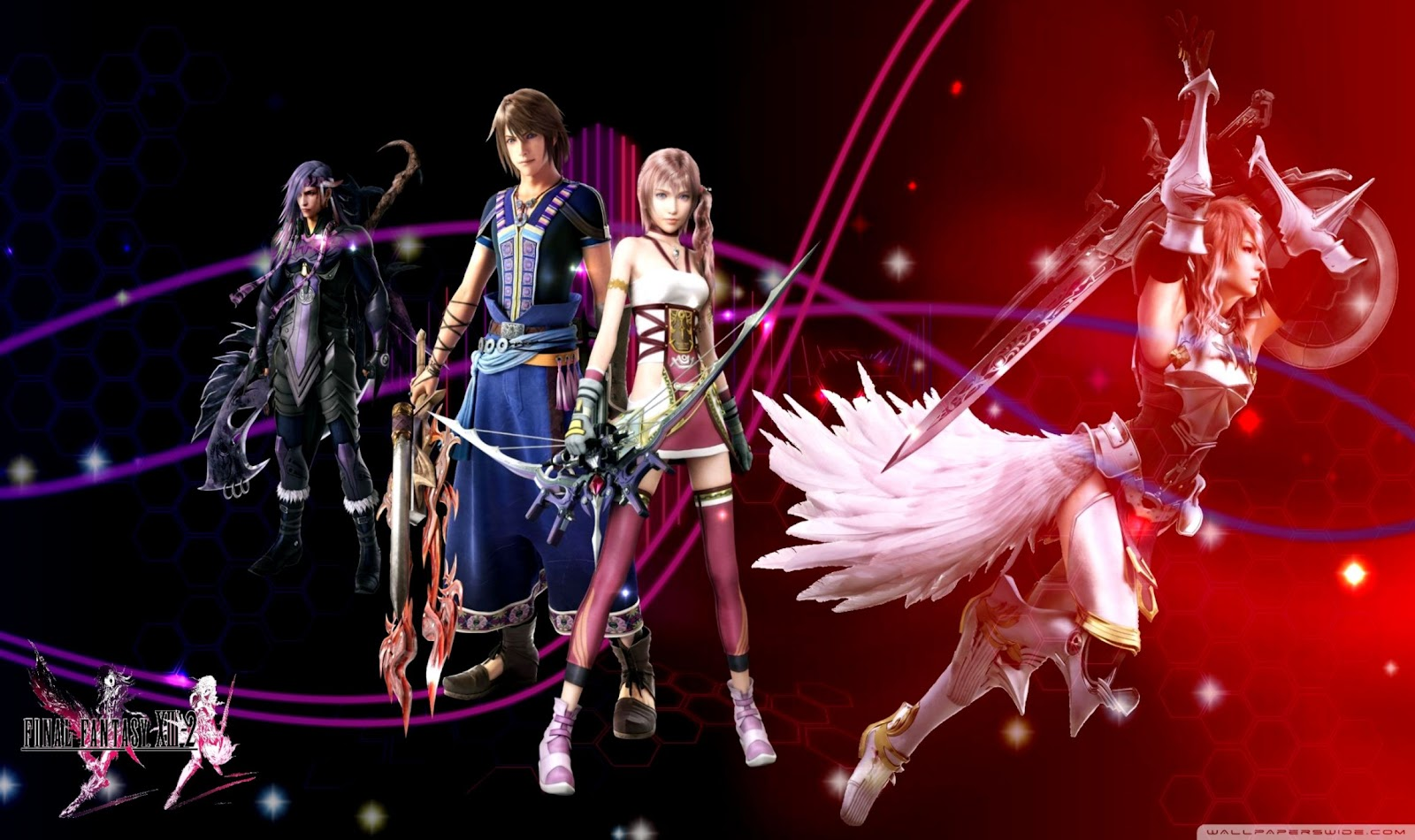 Final Fantasy Xiii 2 Wallpaper | Silver Wallpapers