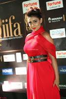 Apoorva in a Stunning Tight Leg Split Sleeveless Red Gown at IIFA Utsavam Awards 50.JPG