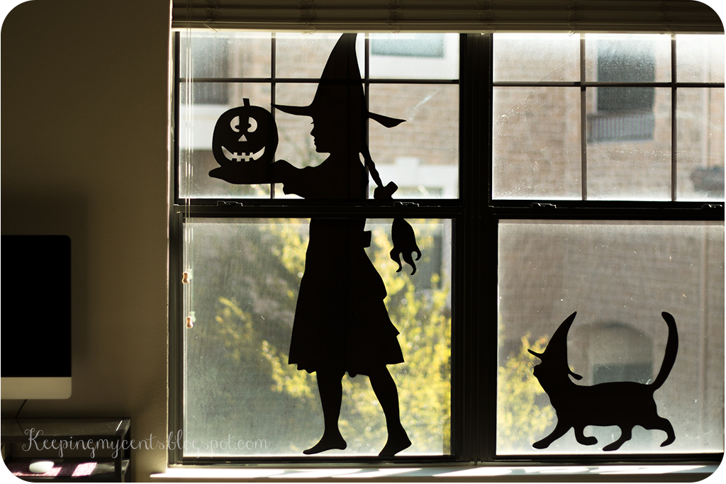vinyl halloween removable silhouette