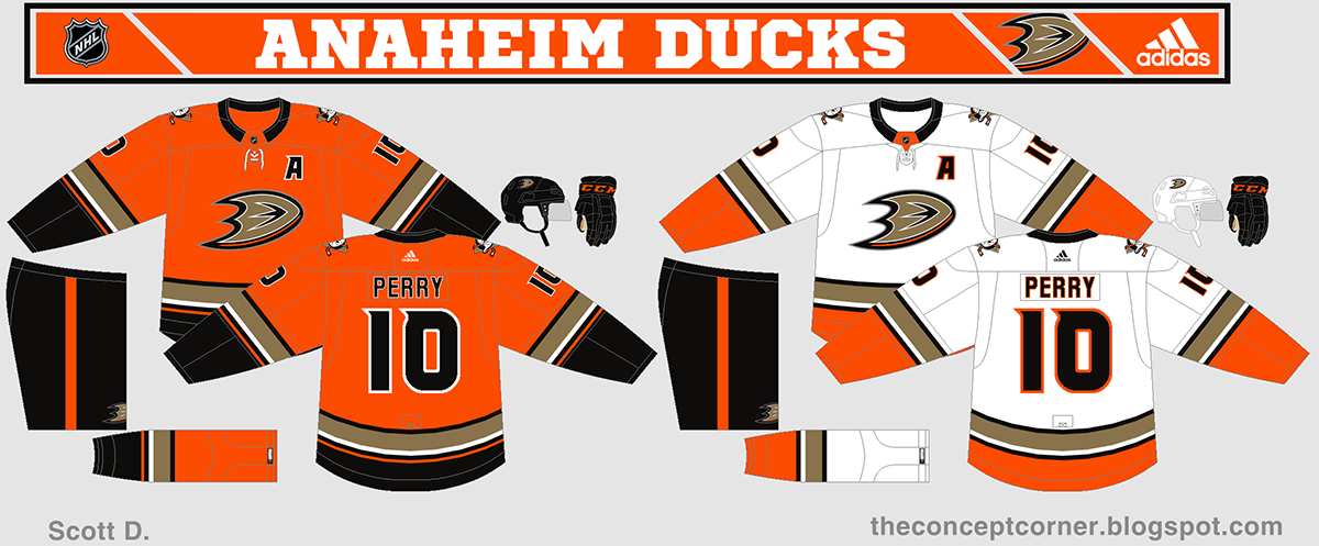 new product a98bf e4551 The Concept Corner: NHL by Adidas: Anaheim