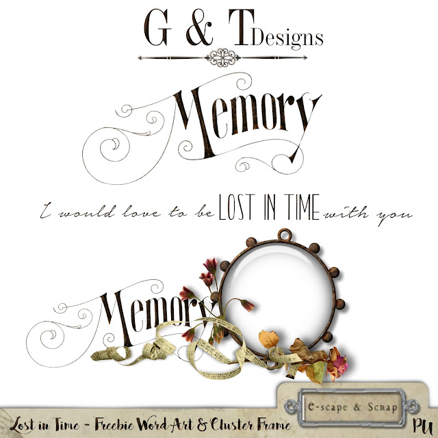 G&T Designs - Lost in Time Re-Released & Freebie