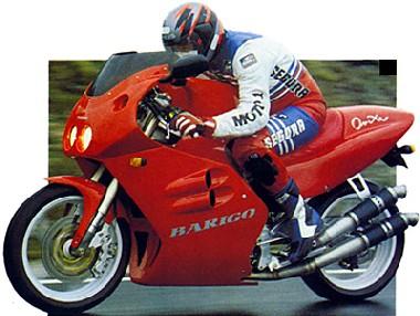 Barigo Onixa motorbike