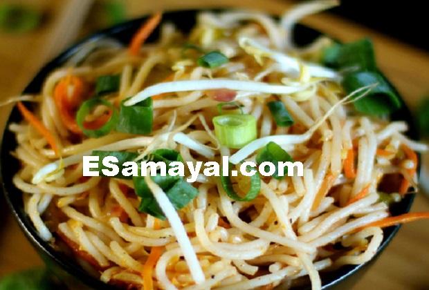 காப்சிகம் பேபிகார்ன் நூடுல்ஸ் செய்வது எப்படி? | Capsicum Baby Corn Noodles Recipe !