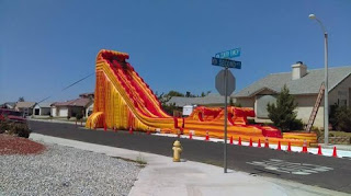 Water slide rentals in Phoenix