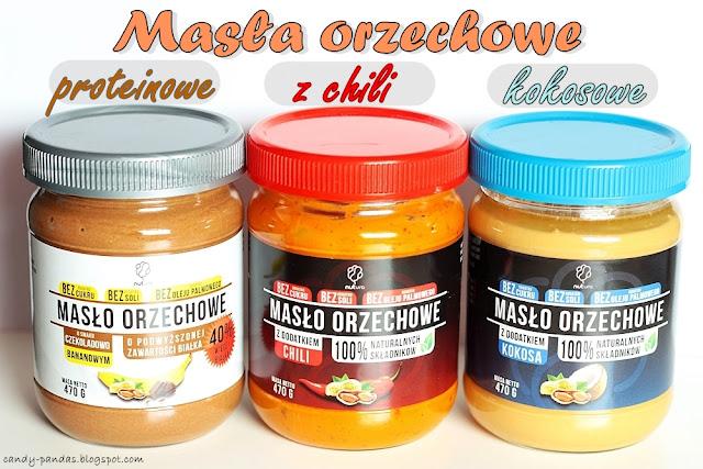 Masło orzechowe z kokosem/chili/proteinowe - Nutura