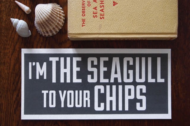 Alfies Studio Paper Echoes Cards - You're the Seagull to My Chips