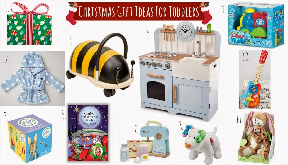 Christmas Gift Ideas For Toddlers ♥ | Dolly Dowsie