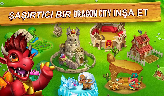 dragon city elmas hileli apk indir