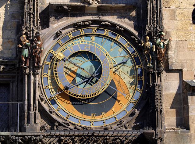 Torre do relógio astronômico em Praga | República Checa
