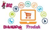 Jenis beragam produk di dalam situs bukalapak