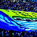 Bobotoh Karawang Nobar di Area Stadion Singaperbangsa