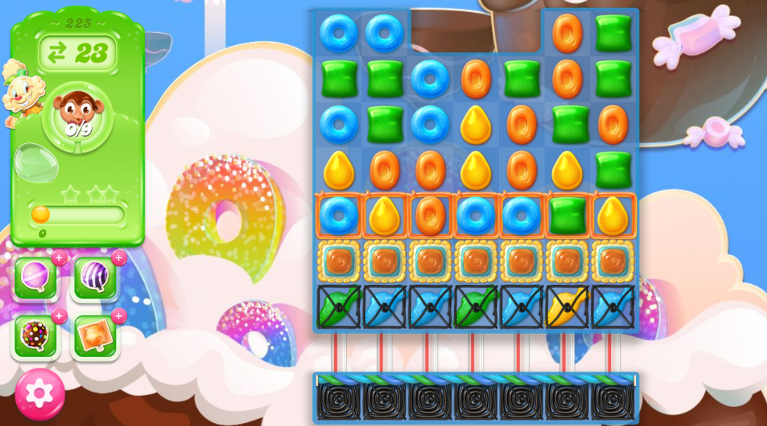 Candy Crush Jelly Saga 225