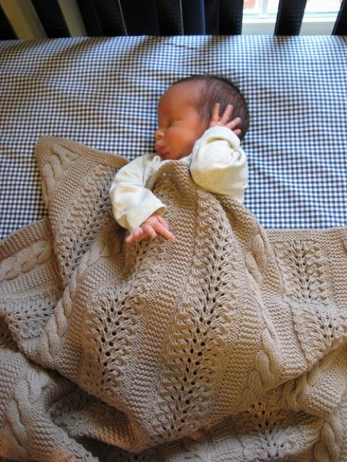 Heavenly Baby Blanket - Free Pattern