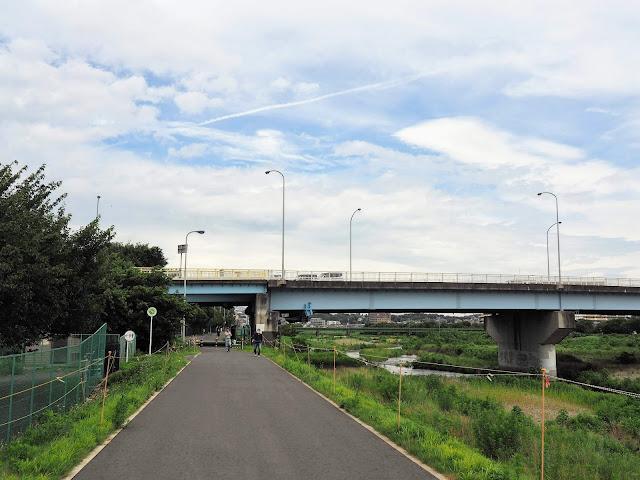浅川 国道16号線八王子バイパス