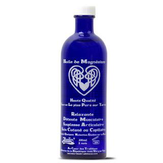 huile de magnésium sur votre peau !