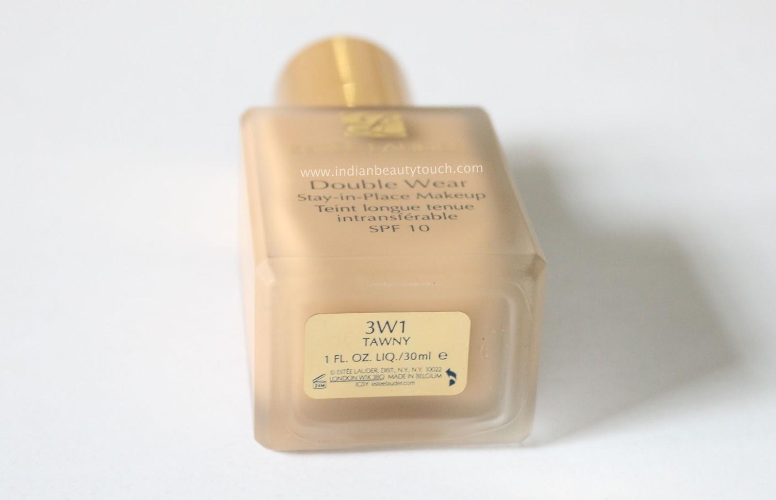 Estee Lauder Double Wear Stay In Place Makeup Foundation 4w1 Honey Bronze 30ml